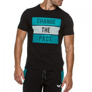T-shirt Evolution Body Black 2168