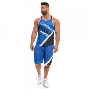 Tank Top Evolution Body Blue 2242blue