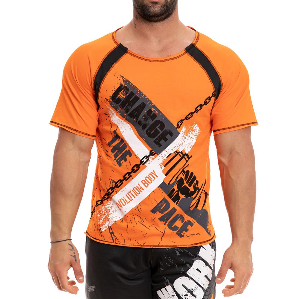 ανδρική μπλούζα με τύπωμα