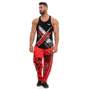 Sweatpants Evolution Body Red 2250red