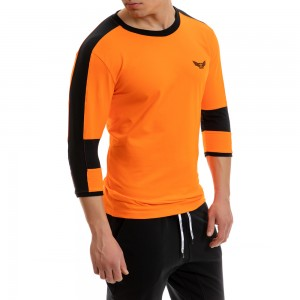 Sweatshirt Evolution Body Orange 2252