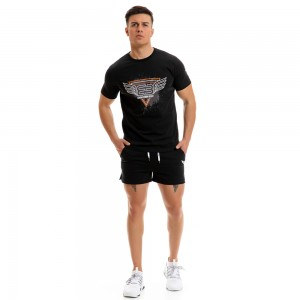 T-shirt Evolution Body Black 2267black