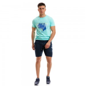 T-shirt Evolution Body Aqua 2267aqua