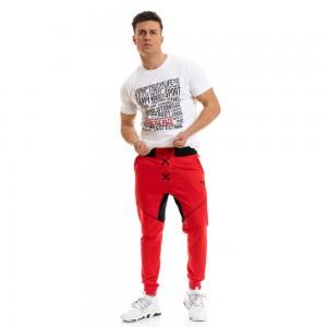 Sweatpants Evolution Body Red 2253
