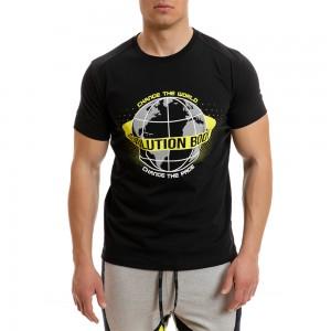 T-shirt Evolution Body Black 2268black