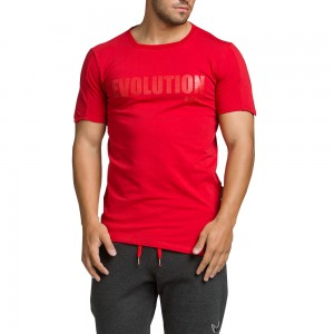T-shirt Evolution Body Red 2064red