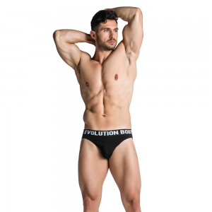 Slip Underwear Evolution Body Black 7004