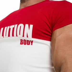 T-shirt Evolution Body Red 2065red
