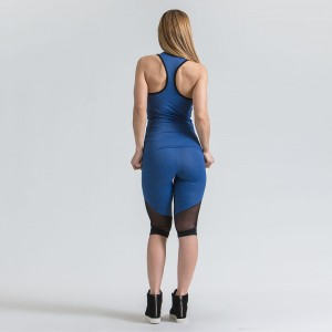 Women's EVO-FIT Tank Top Evolution Body Blue 3011blue